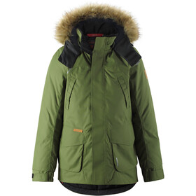 Reima Serkku Reimatec Down Jacket Youth khaki green